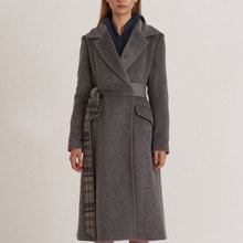 Modern A-LINE Fit Suri-Alpaca Long Coat_GOBLIN-BLUE [모던 A라인 수리알파카 롱코트]