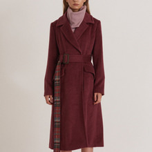 Modern A-LINE Fit Suri-Alpaca Long Coat_PALE-PURPLE [모던 A라인 수리알파카 롱코트]